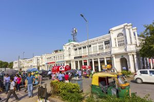 Connaught Place shopping indien 300x200 - People At The Connaught Place In Delhi