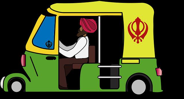 rikshaw - Ta sig runt i Delhi