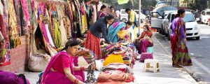 shopping delhi panorama 300x120 - Indian People And Foreigner Travelers Walking Travel Visit And Shopping Product At Janpath And Tibet